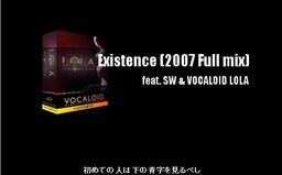 """Image of """"Existence/shu-tP"""""""