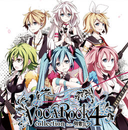 """Image of """"VOCAROCK collection 4 feat. 初音ミク"""""""