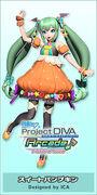 Hatsune Miku Halloween PDArcadeFT Module