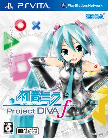 -Project DIVA- f cover
