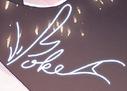 Zhiyu moke autograph