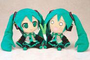 Hatsune и Hachune Miku игрушки