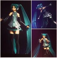 Hatsune Miku at Artpop Ball stills