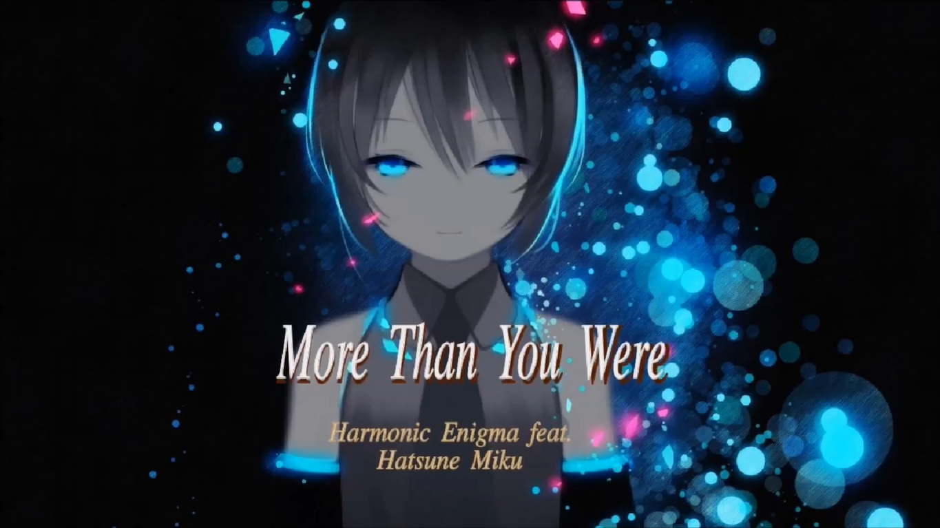 More Than You Were