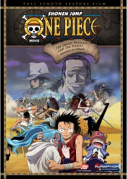 One Piece The Movie - Episode of Alabasta - The Deser Princess and the Pirates DVD Cover.png