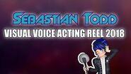 Sebastian Todd Visual Voice Acting Demo Reel (2018)