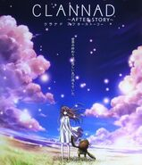 Clannad after story cover