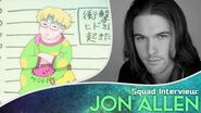 Toonami Squad Podcast Sessions Exclusive Interview with Jon Allen