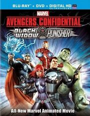 Marvel Avengers Confidential Black Widow & Punisher 2014 Blu-Ray Cover.jpg