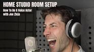 HOME RECORDING STUDIO ROOM SETUP - Acoustic Tips - How To Be A Voice Actor