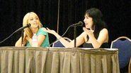 Tara Strong and Grey Delisle