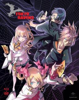 Tokyo Ravens 2013 BluRay-DVD Cover.jpg