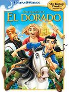The Road to El Dorado 2000 DVD Cover