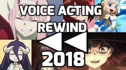 2018 Voice Acting Rewind - Karilynne Davies
