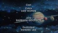 Space Adventure Cobra The Movie 1995 Streamline Pictures Dub Credits 1