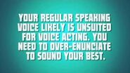 A Guide to Effective Voice Acting - Lesson One Enunciation