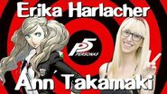Erika Harlacher (Voice of Ann Takamaki from Persona 5) Interview Behind the Voice