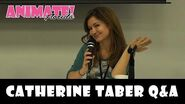Catherine Taber Q&A at Animate Florida 2016