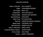 Fate Extra Last Encore Episodes 1-5 Credits
