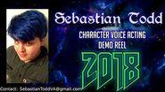 Sebastian Todd - Character Demo Reel - 2018