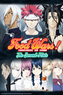 Food Wars! The Second Plate Cover.jpg