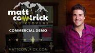 Matt Cowlrick - Commercial Demo Video