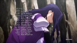 Sword Art Online Alicization – War of Underworld Episode 14 Credits Part 1.png