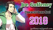 Joe Goffeney - Character Demo Reel 2018