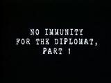 No Immunity for the Diplomat, Part 1 (Case Closed Episode)