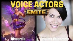 All Characters and Voice Actors - Smite God Voicelines