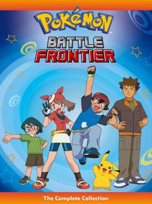 Pokémon Battle Frontier 2006 DVD Cover.png