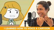I Learned How To Voice A Cartoon