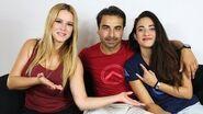 Assassin's Creed Odyssey voice actors Alexios & Kassandra interview