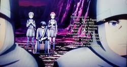 Sword Art Online Alicization – War of Underworld Episode 5 Credits.png
