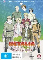 Hetalia Axis Powers Paint it, White DVD Cover.jpg