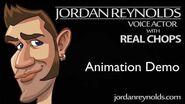 Animation & Characters Voice Actor Demo Reel - Jordan Reynolds