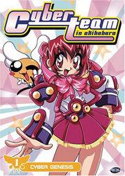 Cyberteam in Akihabara 1998 DVD Cover.jpg
