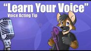 """Voice Acting Corner """"LEARN YOUR VOICE"""""""