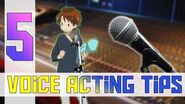 5 EASY Tips To Becoming A Better Voice Actor