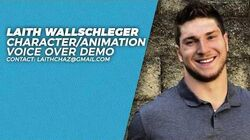 VO Voice Over Character Animated Demo Reel Laith Wallschleger (17 voices in 140 seconds)