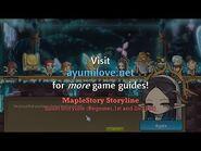 Ayumilove MapleStory Illium Storyline (Beginner, 1st and 2nd Job)