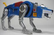 Blue lion toy