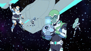 S2E04.46a. Pidge focused on sample while rest play in bg 2