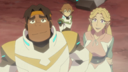 S7E02.15. And here comes Pidge to crash the party