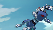 148. Blue Lion twisting in flight 2