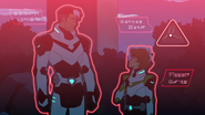 41. Shiro and Pidge being scanned