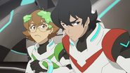 65. Pidge and Keith give Allura the stink eye