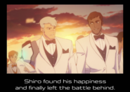 Shiro and Curtis