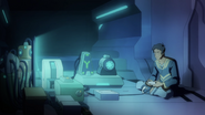 S4E03.170. Why is the gaming system in LANCE's room