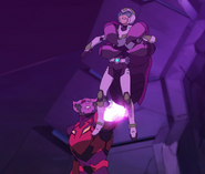 152. Sendak holds Pidge overhead in his claw (cropped)